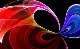 Colorful abstract background. Colorful 3d rendered background (fantasy,abstract background Royalty Free Stock Image