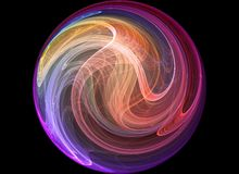Colorful abstract background. Colorful 3d rendered background (fantasy,abstract background Royalty Free Stock Photography