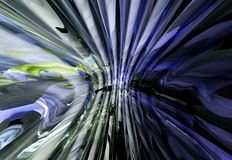Colorful abstract background. Colorful 3D rendered abstract background Stock Images