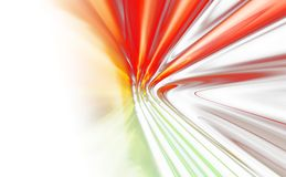 Colorful abstract background. Colorful 3D rendered abstract background Royalty Free Stock Photo