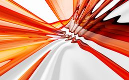 Colorful abstract background. Colorful 3D rendered abstract background Stock Photos
