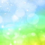 Colorful abstract background blur. Colorful abstract background with circles of light Stock Image
