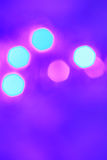 Colorful abstract background with bokeh lights Stock Photo