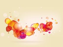 Colorful  abstract background with bubbles Royalty Free Stock Photo