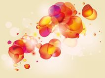 Colorful  abstract background with bubbles Stock Photo