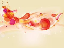 Colorful  abstract background with bubbles Stock Photography