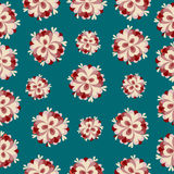 Colorful abstract background classic flowers pattern Royalty Free Stock Photography