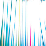 Colorful abstract background with cocktail straws Stock Photos
