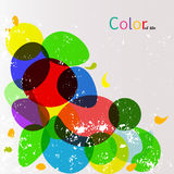 Colorful abstract background, color of life concept Stock Images
