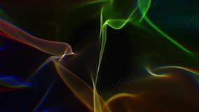 Color bokeh particles stock video