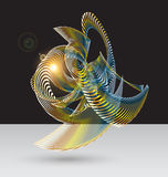 Colorful abstract background. For creative art,web and design work stock illustration