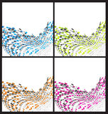Colorful abstract background. For creative design work stock illustration