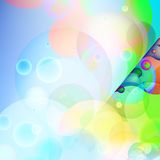 Colorful abstract background. + EPS10. Vector file royalty free illustration