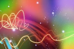 A colorful, abstract colorful background stock illustration