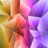 Colorful abstract background isolated on white Stock Photos