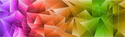 Colorful abstract background isolated on white Stock Photo