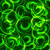 Colorful abstract background lights circle Royalty Free Stock Photography