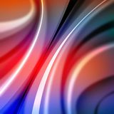Colorful abstract background with lines.  Stock Photos
