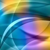 Colorful abstract background with lines.  Stock Photography