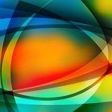 Colorful abstract background with lines.  Stock Photo