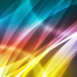 Colorful abstract background with lines.  Royalty Free Stock Image