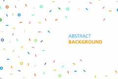 Colorful abstract background. Minimalistic design, creative concept, modern diagonal abstract background, Geometrical abstract background Stock Photo