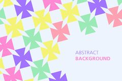 Colorful abstract background. Minimalistic design, creative concept, modern diagonal abstract background, Geometrical abstract background Royalty Free Stock Photos