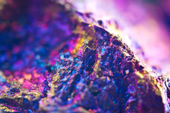Colorful Abstract background from natural mineral. Macro Royalty Free Stock Image