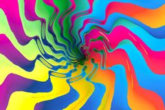 Colorful abstract background noise. Colorful abstract background with noise 3d illustration Stock Photos