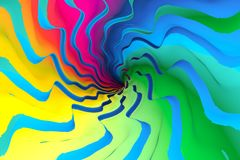Colorful abstract background noise. Colorful abstract background with noise 3d illustration Stock Image