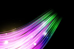 Colorful Abstract Background. Purple Abstract vector wallpaper on black background Stock Images