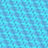 Blue water colors rhombuses and squares in a vivid pattern. Colorful abstract background of rhombuses and squares. colored with gradient mesh. vivid illustration Stock Image