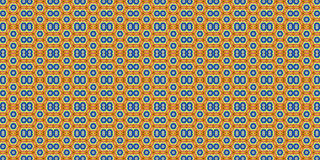 Colorful abstract background, seamless pattern. Kaleidoscopic orient popular style Stock Images