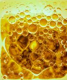 Colorful abstract background set of bubbles in liquid. Screensaver Stock Photo