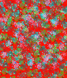 Colorful abstract background in stile of  vintage Russian Scarf Royalty Free Stock Photography
