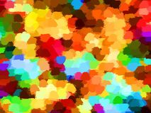 A colorful, abstract background, stylized oil painting large strokes Stock Images