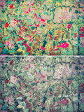 Colorful abstract background texture in vintage color set Stock Image