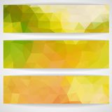 Colorful Abstract Background With Triangles Stock Image