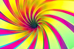 Colorful abstract background twist. Colorful abstract background with twist 3d illustration Stock Images