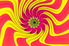 Colorful abstract background twist. Colorful abstract background with noise 3d illustration Stock Image
