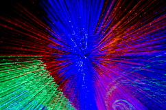 Colorful abstract background, using motion blur from tunnel ligh Stock Images