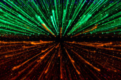 Colorful abstract background, using motion blur from tunnel ligh Royalty Free Stock Photos