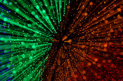 Colorful abstract background, using motion blur from tunnel ligh Royalty Free Stock Photography