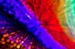 Colorful abstract background, using motion blur from tunnel ligh Stock Image