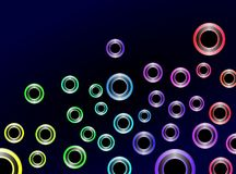 Colorful Abstract Background Vect Royalty Free Stock Photos