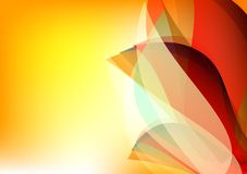 Colorful abstract background Vector illustration for your business.  Stock Photography
