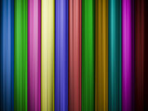 Colorful abstract background with vertical lines Stock Photography