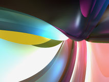 Colorful Abstract Background Wallpaper. 3D Purple Blue Pink Abstract Background Wallpaper Stock Photography