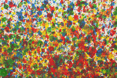 Colorful abstract background with watercolor splashes Royalty Free Stock Photo