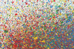 Colorful abstract background with watercolor splashes Royalty Free Stock Photography